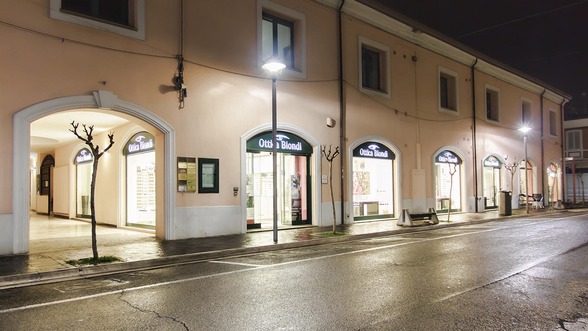 Ottica Biondi - Via Bucci 32 C - Morciano Di Romagna