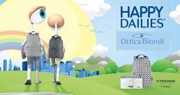 Happy Dailies - Lenti a contatto - Promozione